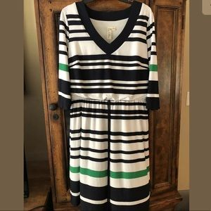 emma michele Scoop Neck Blousen dress Sz L